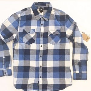VANS OFF THE WALL BUFFALO PLAID FLANNEL SHIRT XL